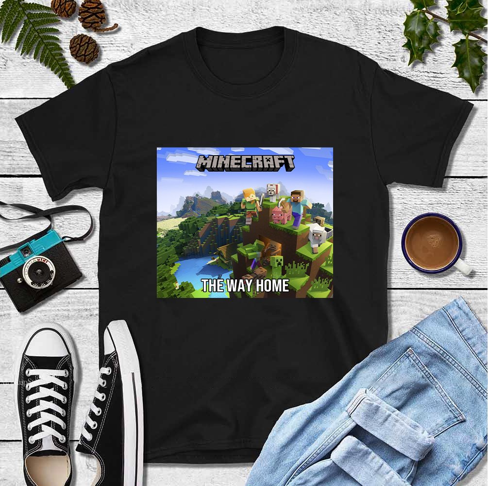 Minecraft Shirts For Kids Minecraft The Way Home