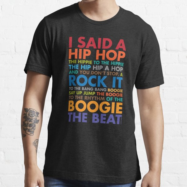 Obscene Lover Shirt I Said A Hiphop Rock It Boogie The Beat