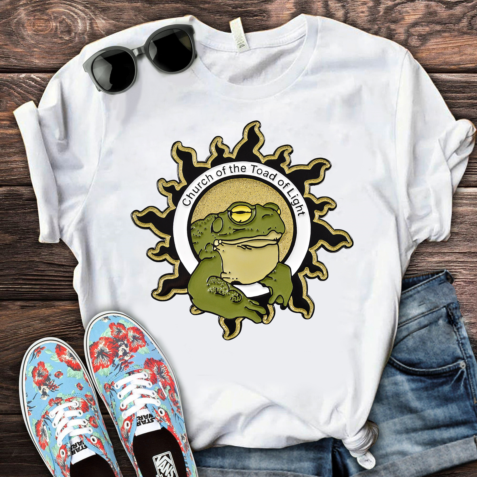Psychedelic Toad Of The Sonoran Desert Shirt Church Of The Toad