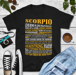 Scorpio Great Kisser Shirt Loves Being In Long Relationships