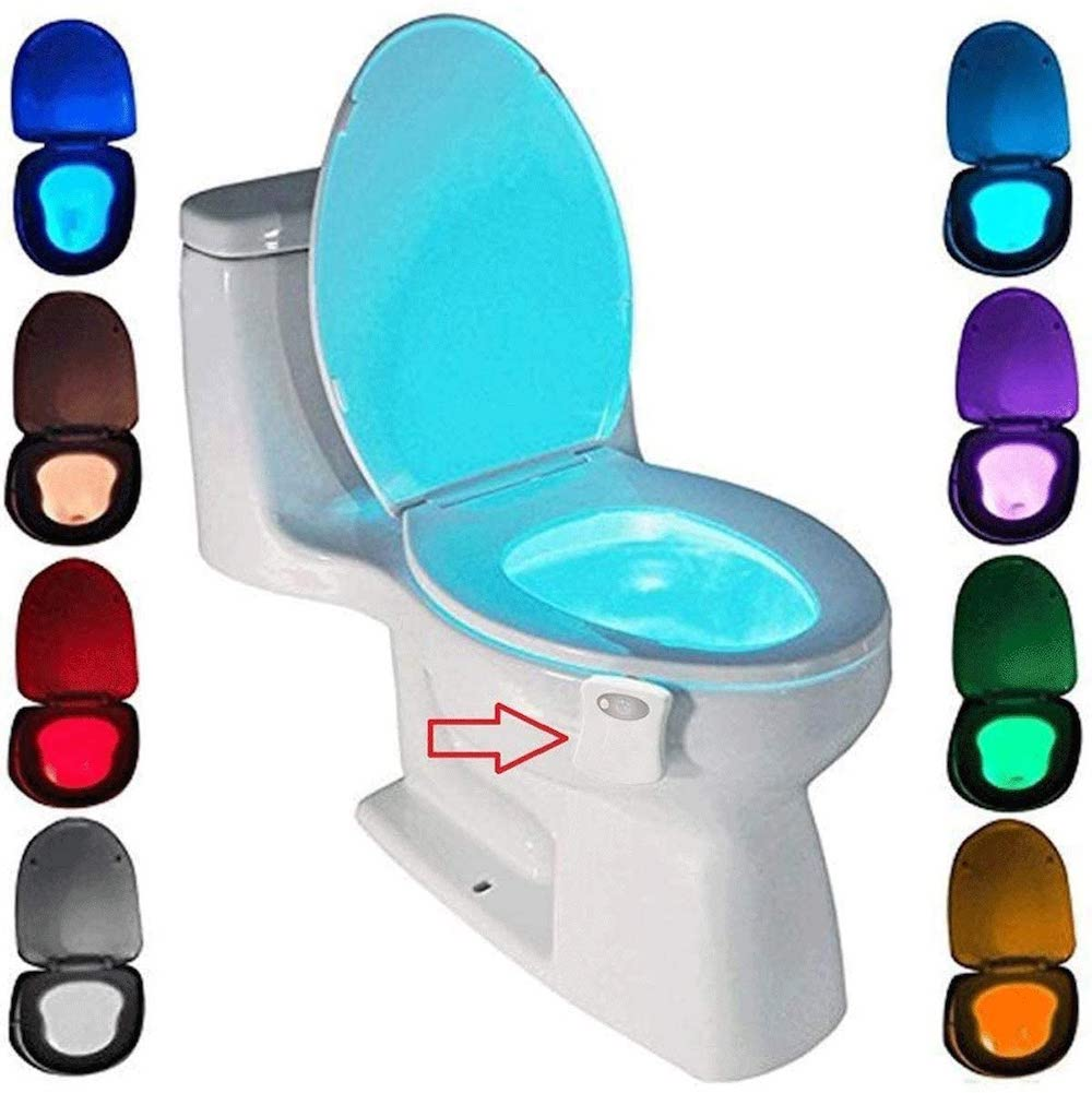 Toilet Night Light- Funny Fathers Day gift ideas