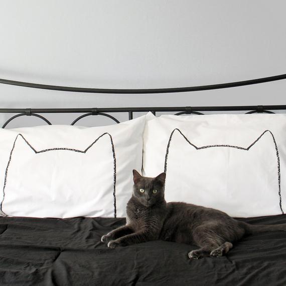Cat Pillow Case Set 1