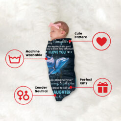 Daughter Blanket I Am Proud To Call You Daughter 6