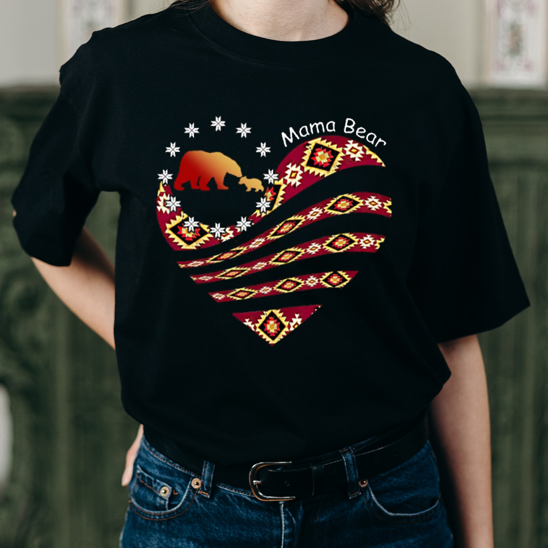 Perfect shirt for mommy, mama bear, mother, thoughtful Mother's Day gift for your mother!