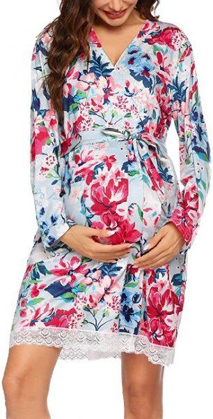 Maternity Kimono Bathrobes- mother's day gift for pregant wife