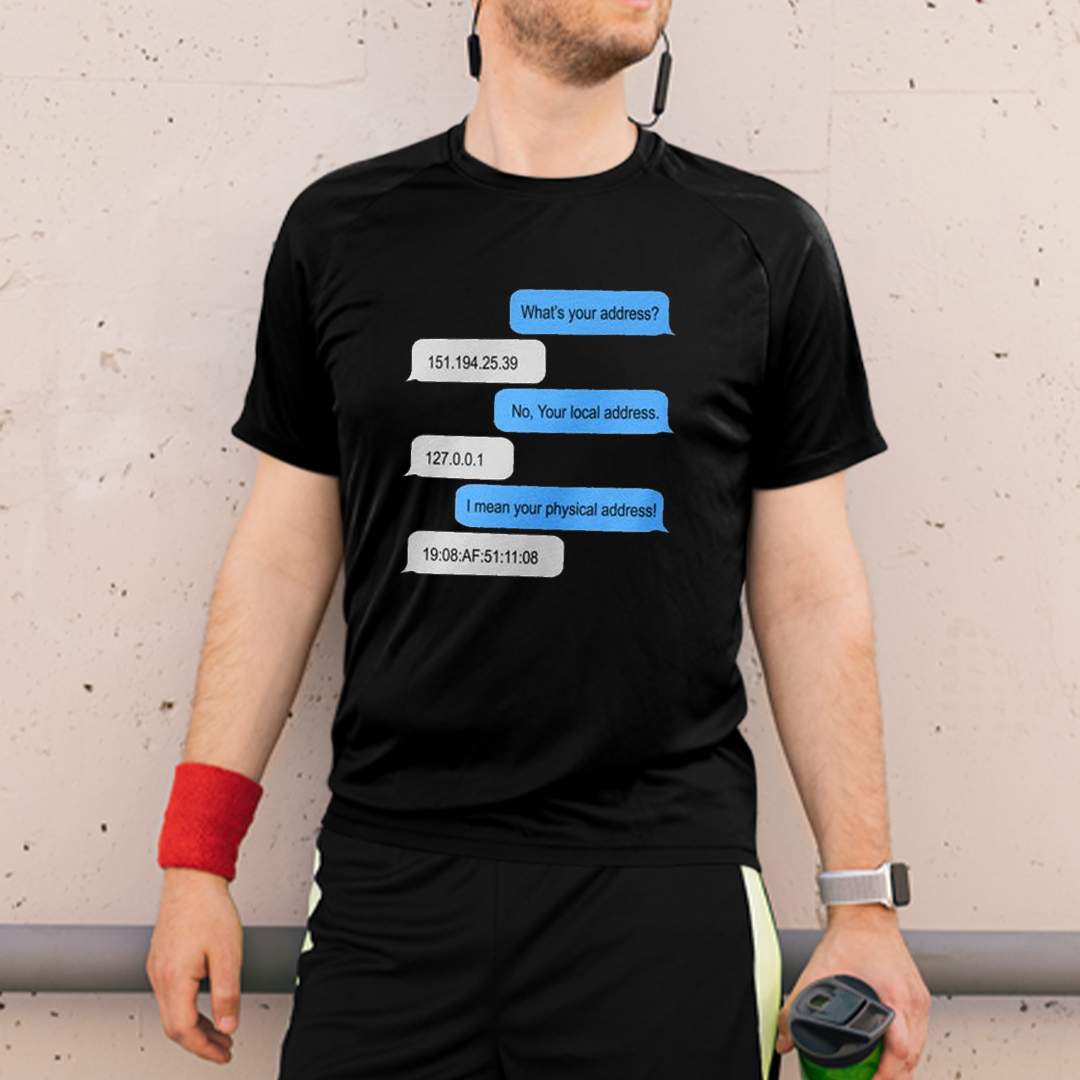 Programmer What Is Your Address Shirt Coding Humor Tee