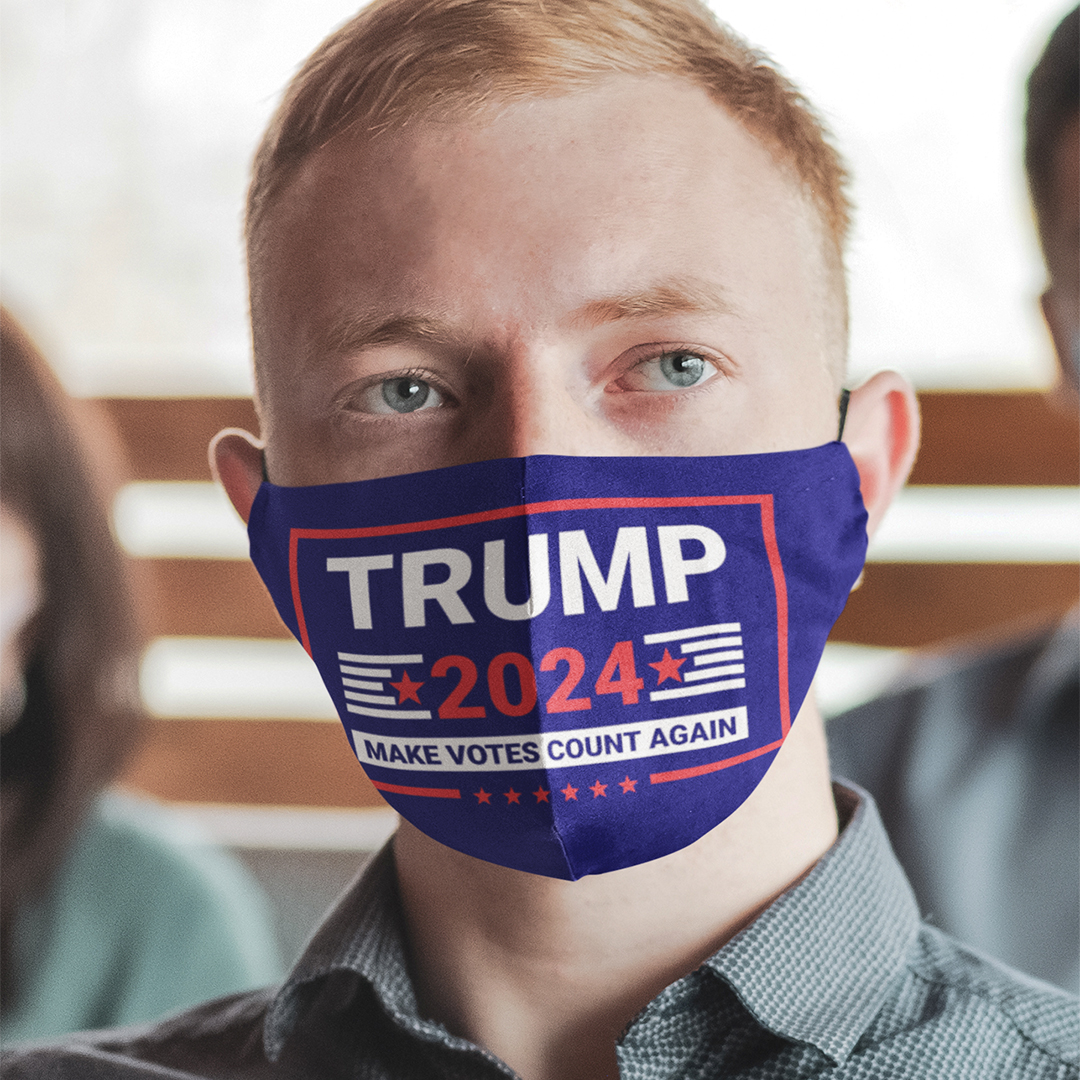 Trump 2024 Make Votes Count Again Mask