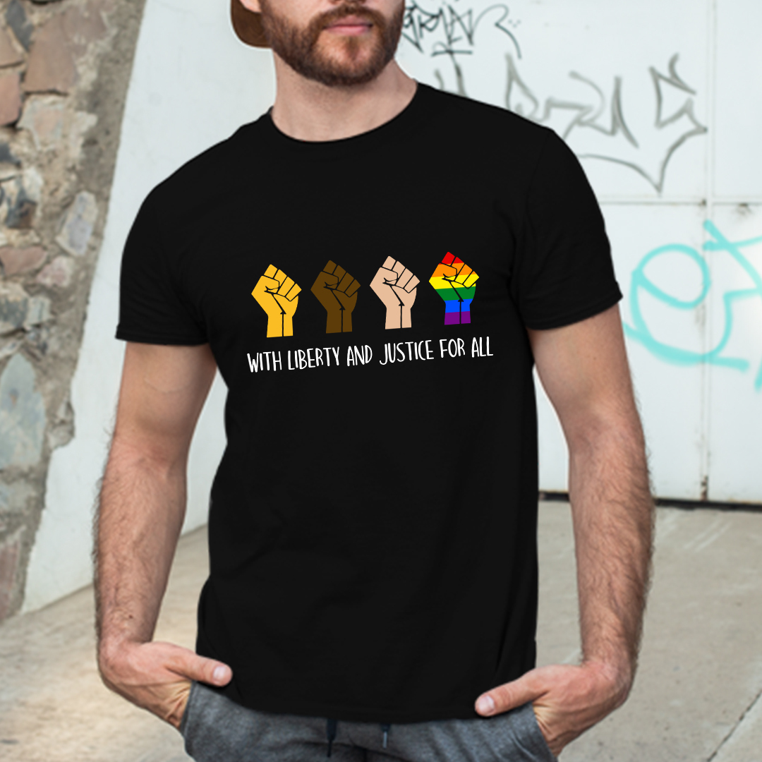 With Liberty And Justice For All Shirt