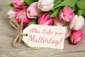 how do they celebrate Mother's Day in Germany