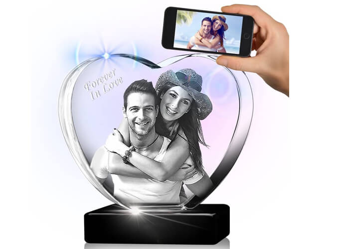 3D Crystal Photo Gift For Dad That Will Make Him Cry