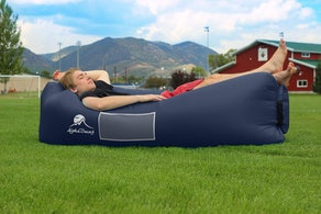 AlphaBeing Inflatable Lounger - Gift For Dad Who Doesn't Want Anything
