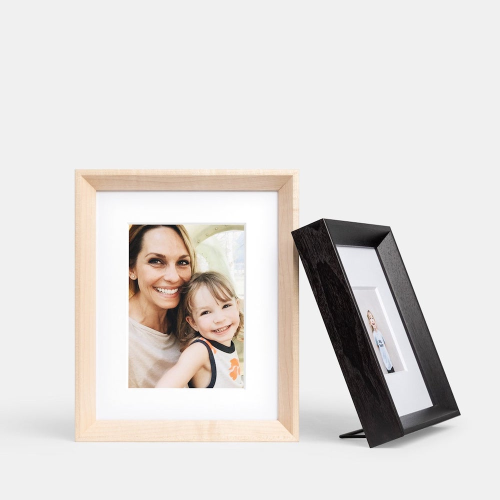 Artifact Uprising Wooden Tabletop Frame- great holiday gifts for teacher