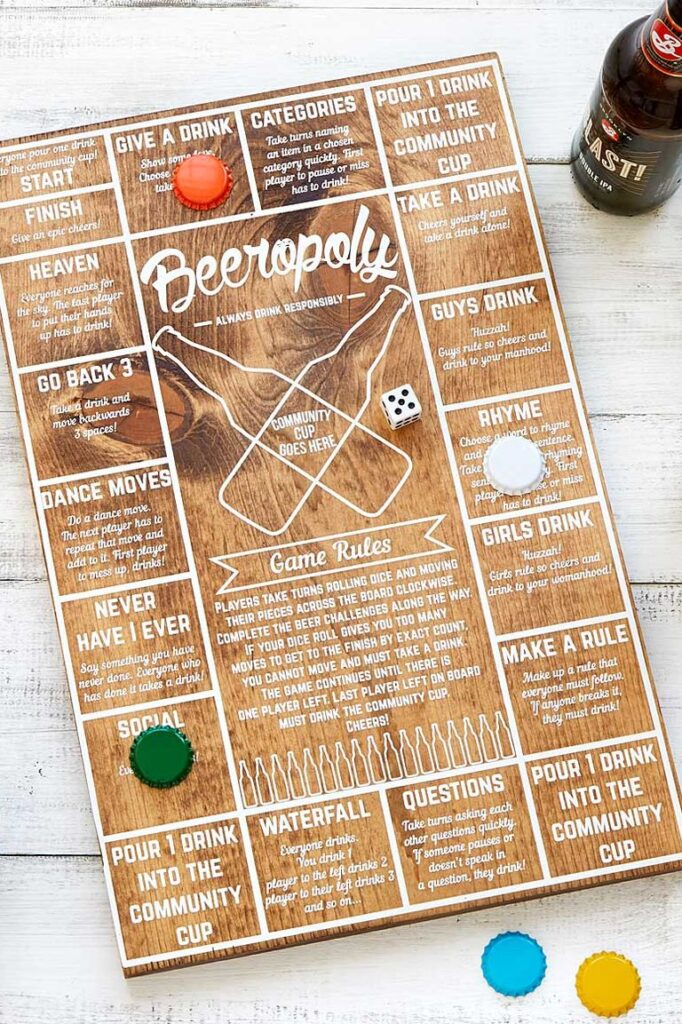 Beeropoly - best gifts for dad from daughter