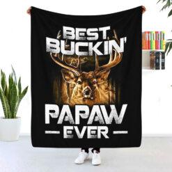 Best Buckin Papaw Ever Blanket