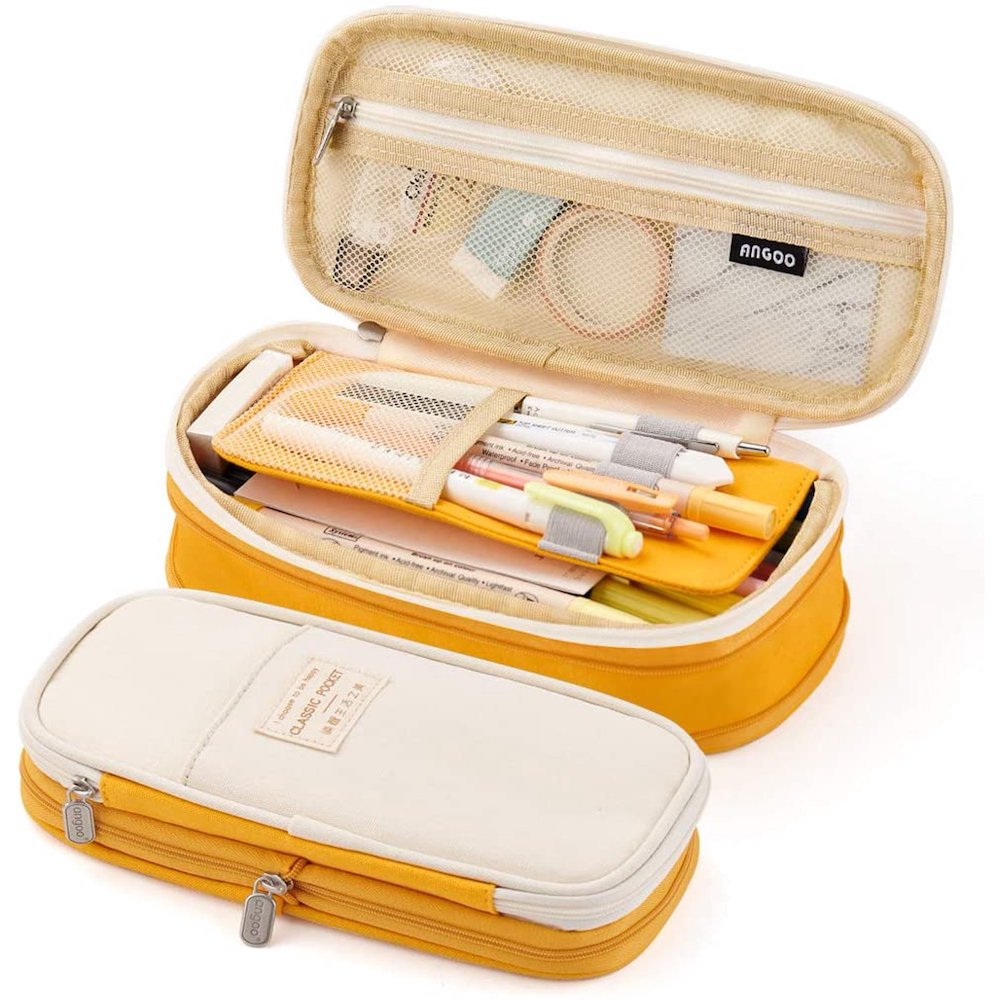 Big Capacity Pencil Pen Case- great holiday gifts for teacher.