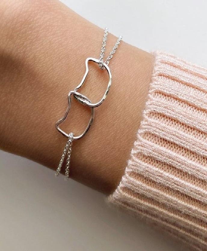 Cat Bracelet handmade cat lover gift