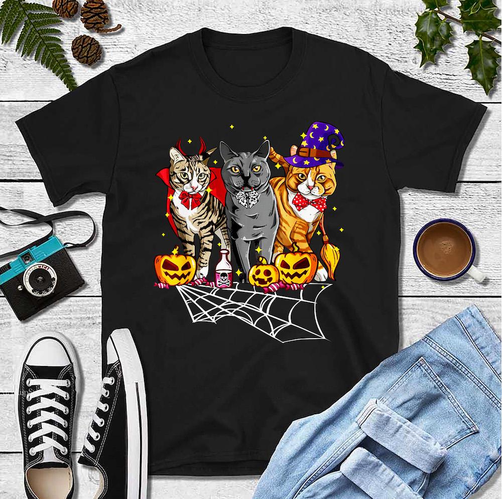 Cat Shirt Cat Halloween Costumes- best holiday gifts for teacher
