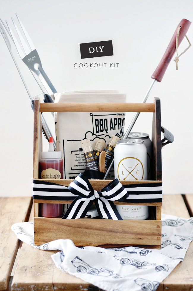 Cookout Kit- gift ideas for dad diy