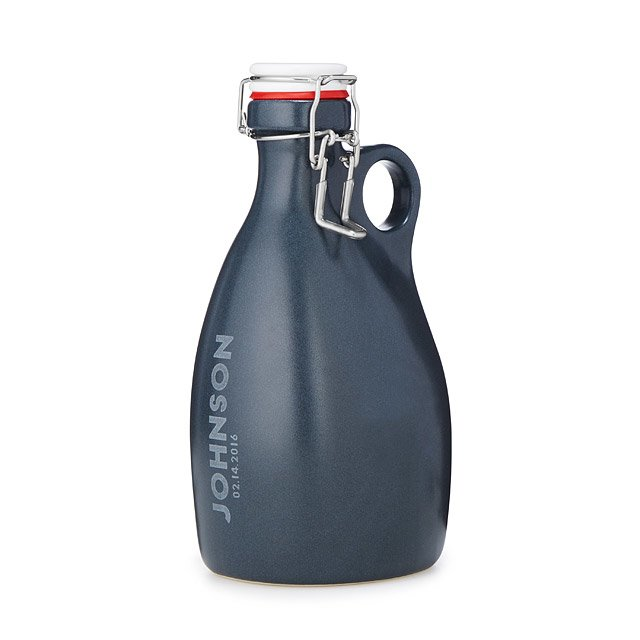 Custom Etched Growler- cool holiday gifts for teacher
