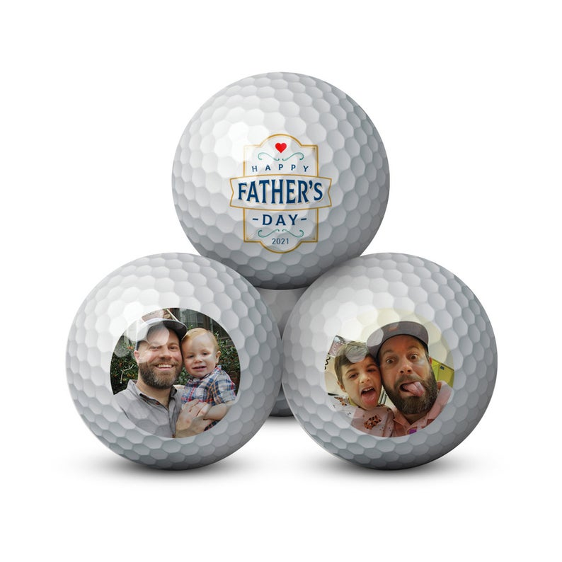 Custom Golf Balls- best gift for dad who has everything UK.