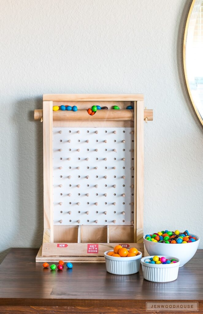 DIY Candy Dispenser- best gift ideas for dad diy