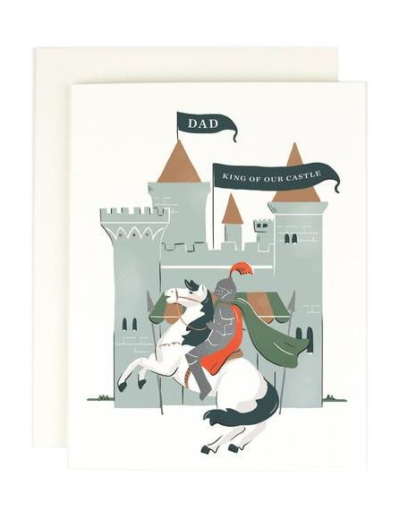 Dad King of Our Castle- nice Father's Day card ideas
