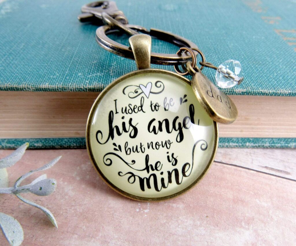Dad Remembrance Keychain