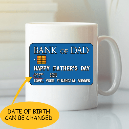 Dad mug- best gift for dad who has everything Uk