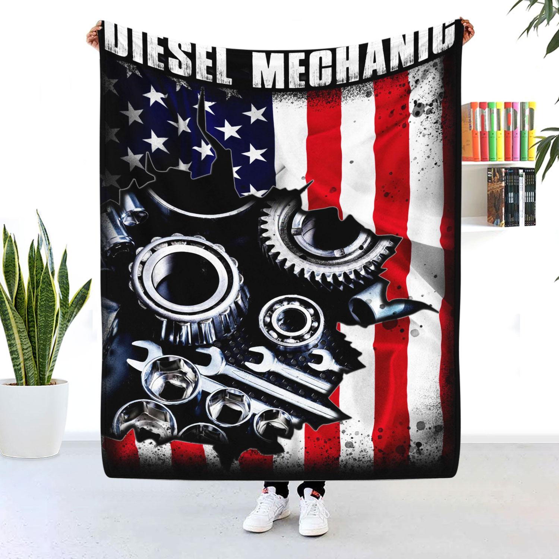 Diesel Mechanic Blanket