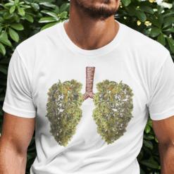 Funny Marijuana Bud Lung Shirt