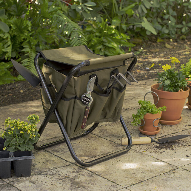 Gardener's Tool Seat - What gift for dad