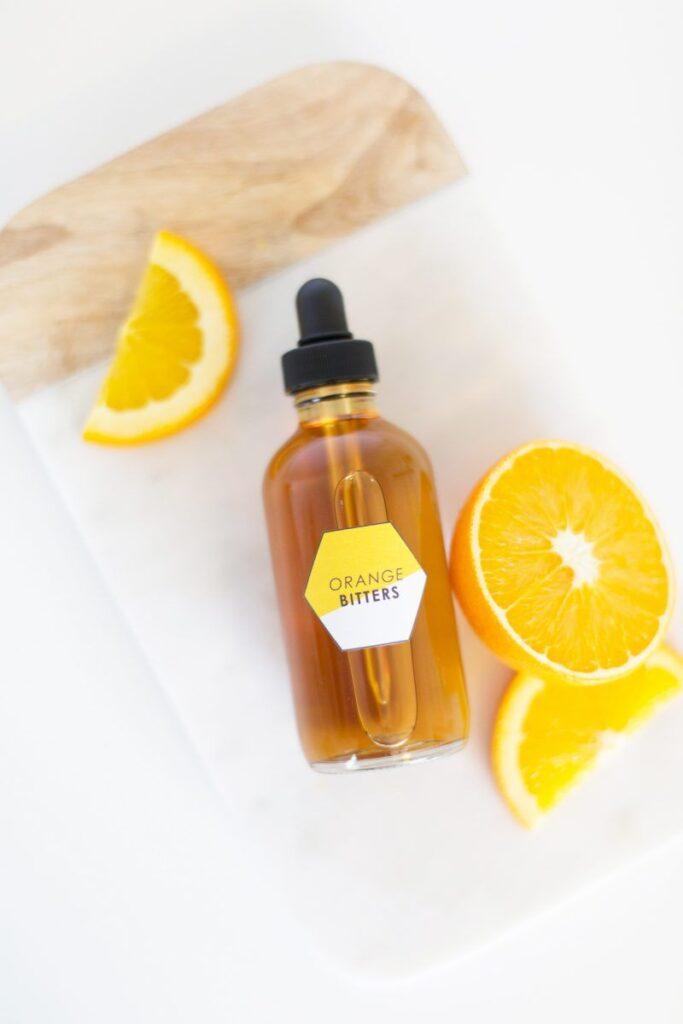 Homemade Orange Bitters
