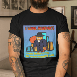 I Love Mondays Garfield Shirt Back In The Office