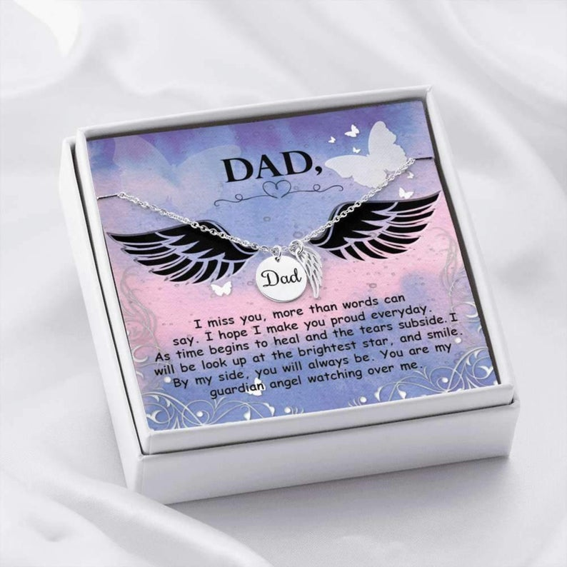 In Memory Of Dad Necklace