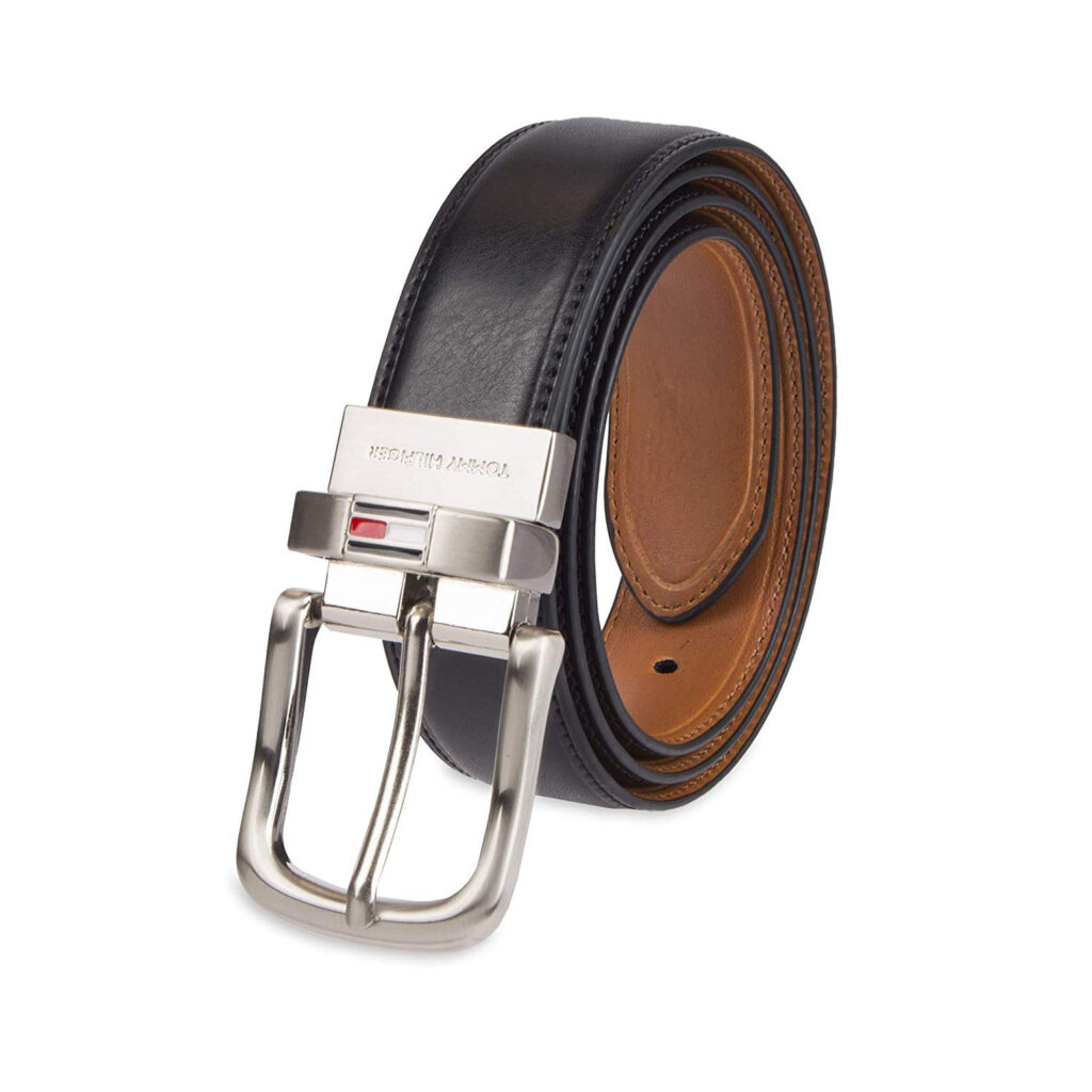 What is gift for daddy - Men's Reversible Leather Belt