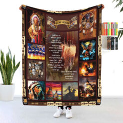 Native American Hold On To What Is Good Blanket