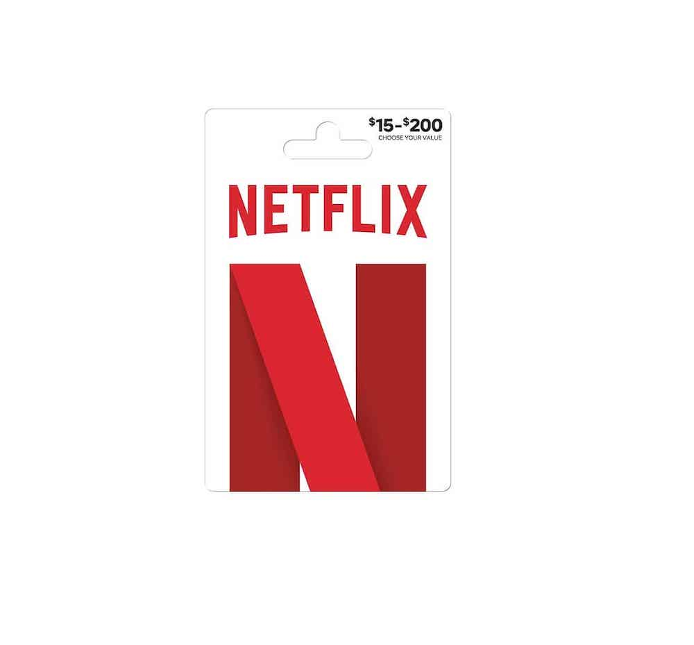 Netflix Gift Card-last-minute Father's Day gifts
