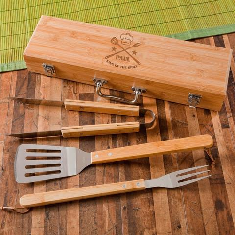 PERSONALIZED BBQ GIFT SET