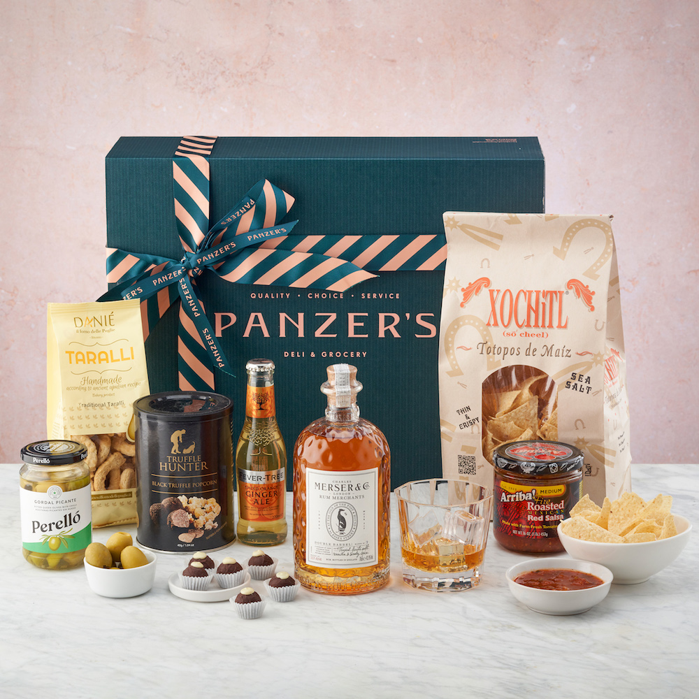 Panzer's Marvelous Merser Hamper- cool gift for dad who has everything UK