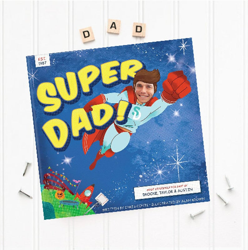 Personalized Book- best gift for dad who has cancer.
