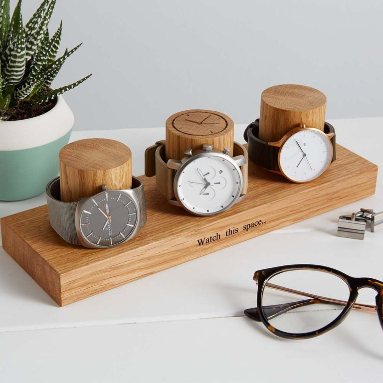 Personalized Watch Stand