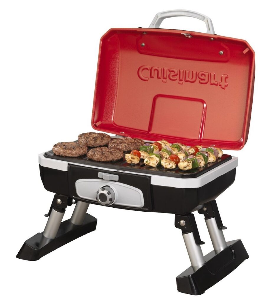Petit Gourmet Portable Tabletop Gas Grill- best gift for dad who has everything UK.