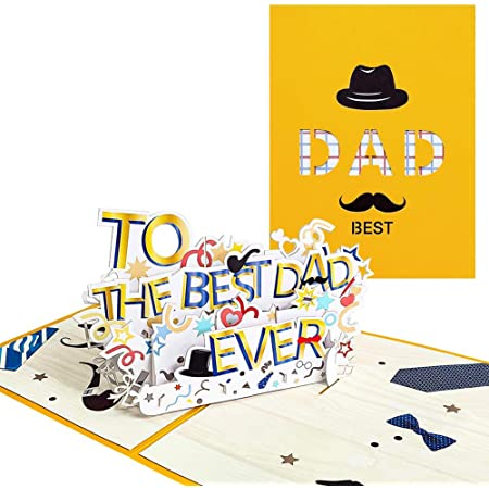 Pop Up Father's Day Card- great Father's Day card ideas