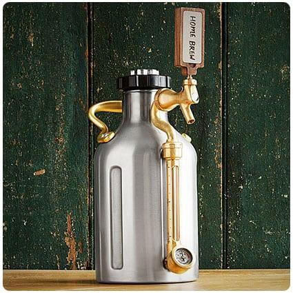 Pressurized Craft Beer Growler