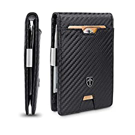 Stylish RFID Blocking Wallet With Money Clip - Best Retirement Gifts for Dad
