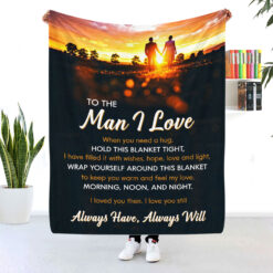 To The Man I Love Blanket