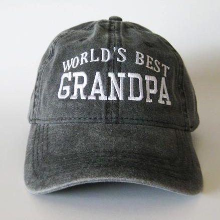Worlds Best Grandpa Cap 1