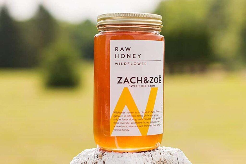Zach Zoe Sweet Bee Farm Honey