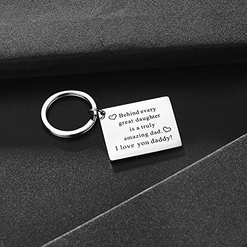 father daughter keychain
