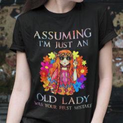 Assuming I'm Just An Old Lady Women's Flowy Shirt